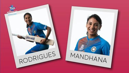 WT20WC: Perfect Pairs - Jemimah Rodrigues and Smriti Mandhana