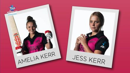 WT20WC: Perfect Pairs – Amelia and Jess Kerr