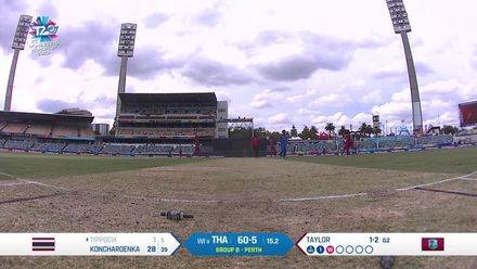WT20WC: WI v Tha - A dominant performance with the ball from West Indies