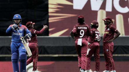 WT20WC: WI v Tha - Taylor holds off Thailand