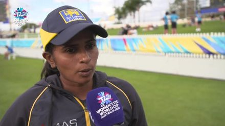 WT20WC: NZ v SL - Shashikala Siriwardana interview