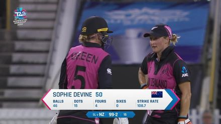 WT20WC: NZ v SL - Highlights of an impressive knock from the New Zealand skipper