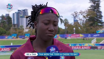 WT20WC: WI v Tha - Thailand choose to bat