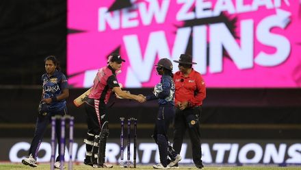 WT20WC: NZ v SL - Devine record in victory