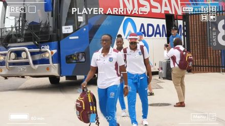 WT20WC: WI v Tha – Teams arrive for their opener
