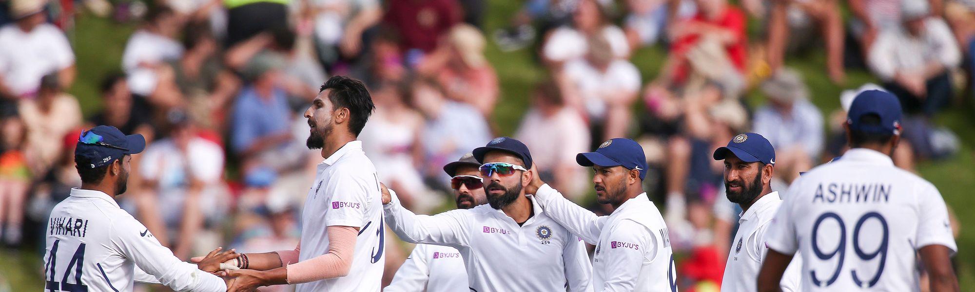 Ishant Sharma led India's fightback with a 3/31