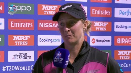WT20WC: NZ v SL - Match presentation