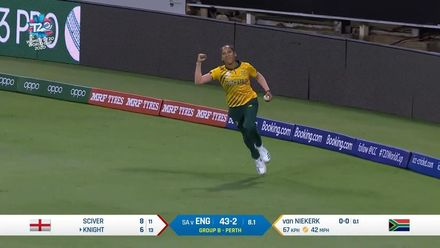 WT20WC: Eng v SA – Heather Knight falls early for 6