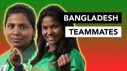 WT20WC: Teammates – Sanjida Islam and Shamima Sultana dish the dirt