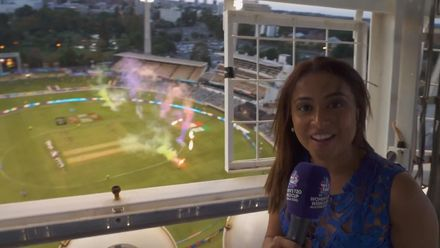 WT20WC: Ind v Ban - Check out the best seat in the house