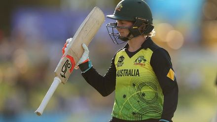 WT20WC: Aus v SL - Impressive hitting from Australia's Rachael Haynes