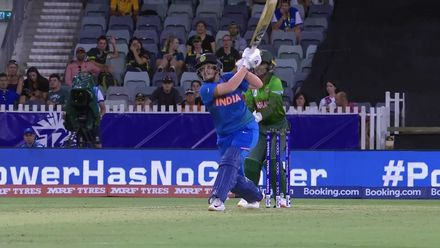 WT20WC: Ind v Ban - Shafali's entertaining knock comes to an end