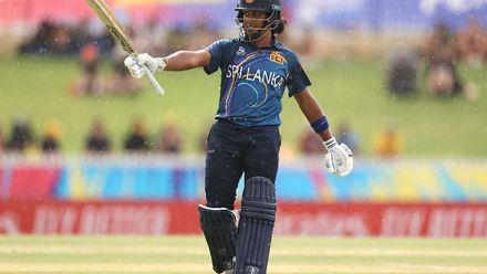 WT20WC: Aus v SL - Highlights of the Sri Lanka first innings