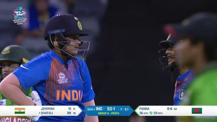WT20WC: Nissan POTD - Shefali goes straight