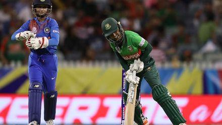 WT20WC: Ind v Ban - Bangladesh innings highlights
