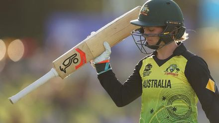 WT20WC: Aus v SL - Highlights of Rachael Haynes 60