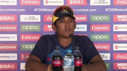 WT20WC: Aus v SL - Chamari Athapaththu speaks