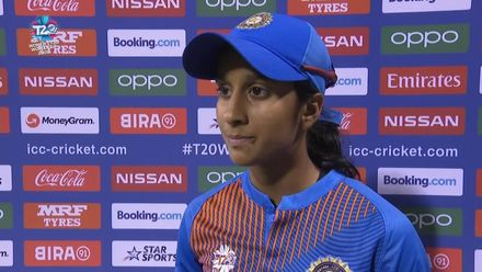 WT20WC: Ind v Ban - End of India innings interview with Jemimah Rodrigues