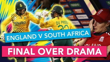 WT20WC: Tension runs high at the England v South Africa finish