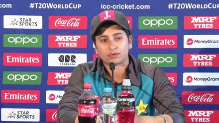 WT20WC - WI v Pak: Nida Dar speaks to the media