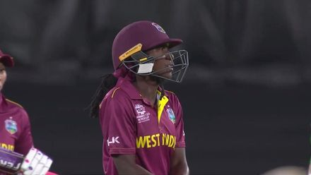 WT20WC: WI v Pak - Stafanie Taylor falls short of a fifty
