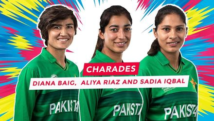 WT20WC: Charades – Pakistan's Diana Baig, Aliya Riaz, Sadia Iqbal