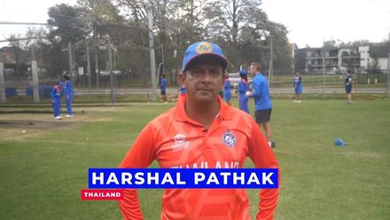 WT20WC: Thailand coach Harshal Pathak looks back on their first T20 World Cup game
