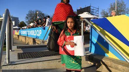 27 February - Canberra - 10th Match, Group A, Australia v Bangladesh