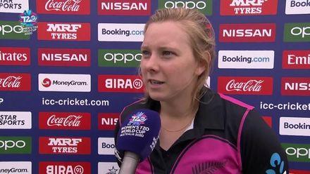 WT20WC: Ind v NZ - Leigh Kasperek speaks