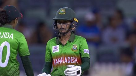 WT20WC: Nigar Sultana Joty, Bangladesh's cheeky keeper