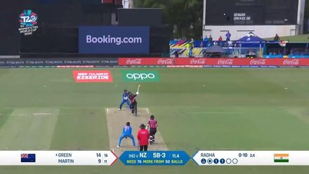 WT20WC: Ind v NZ – Maddy Green goes big