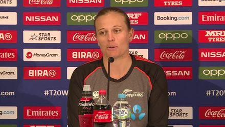 WT20WC: Ind v NZ - Lea Tahuhu discusses the game