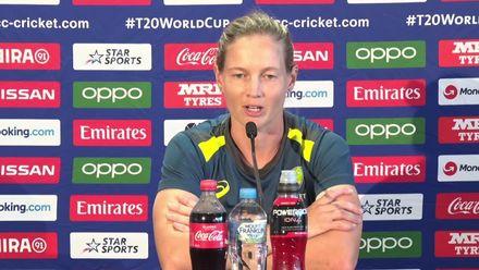 WT20W: Aus v Ban - Meg Lanning speaks