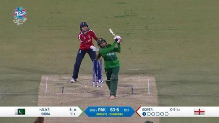 WT20WC: Eng v Pak – Riaz's massive six