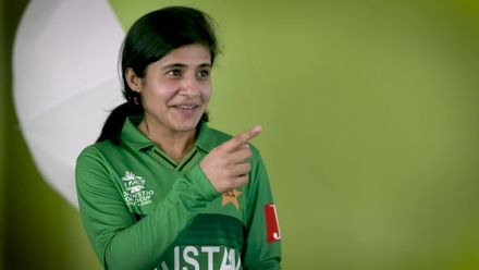 WT20WC: Eng v Pak - Javeria Khan, Pakistan's batting star