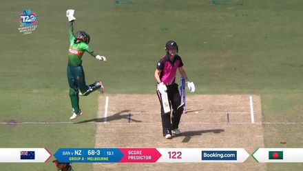 WT20WC: NZ v Ban – New Zealand lose Maddy Green for 11