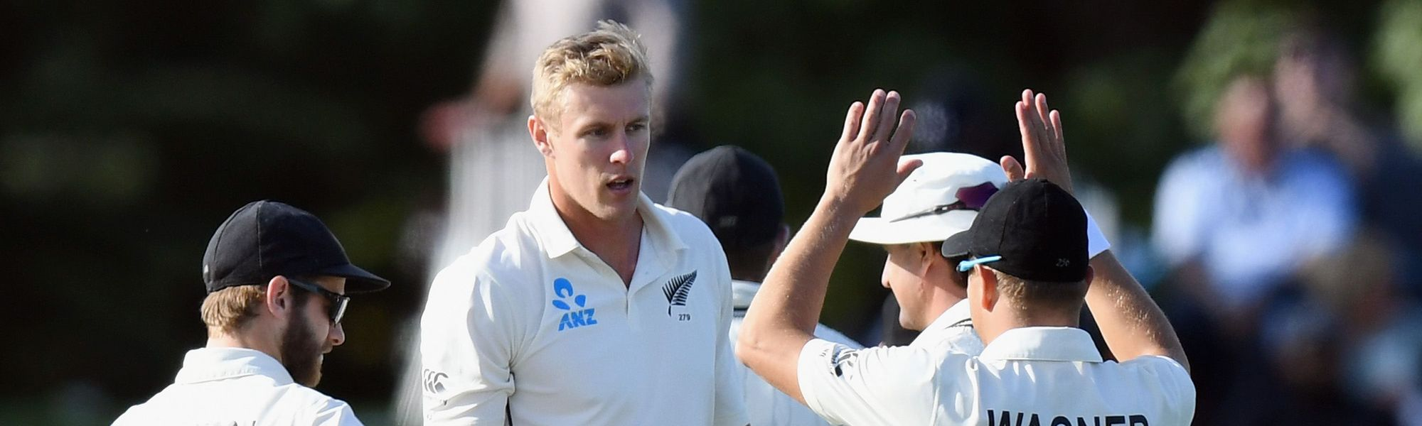 Debutant paceman Kyle Jamieson's success underlined New Zealand's dominance