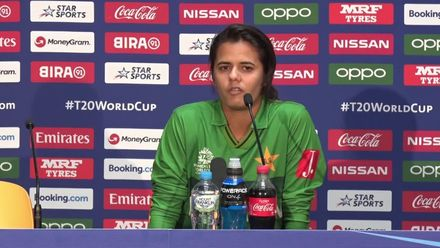 WT20WC: SA v Pak – Aiman Anwer addresses the media