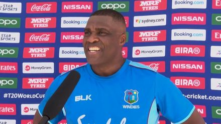WT20WC: Eng v WI –West Indies coach Gus Logie speaks
