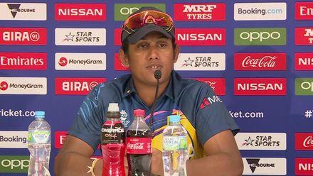 WT20WC: SL v Ban - Chamari Athapaththu speaks