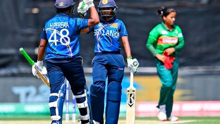 WT20WC: SL v Ban - SL win their final group game
