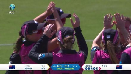 WT20WC: Aus v NZ - Jensen continues her fine T20 World cup