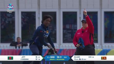 WT20WC: SL v Ban - Sri Lanka continue to take regular wickets