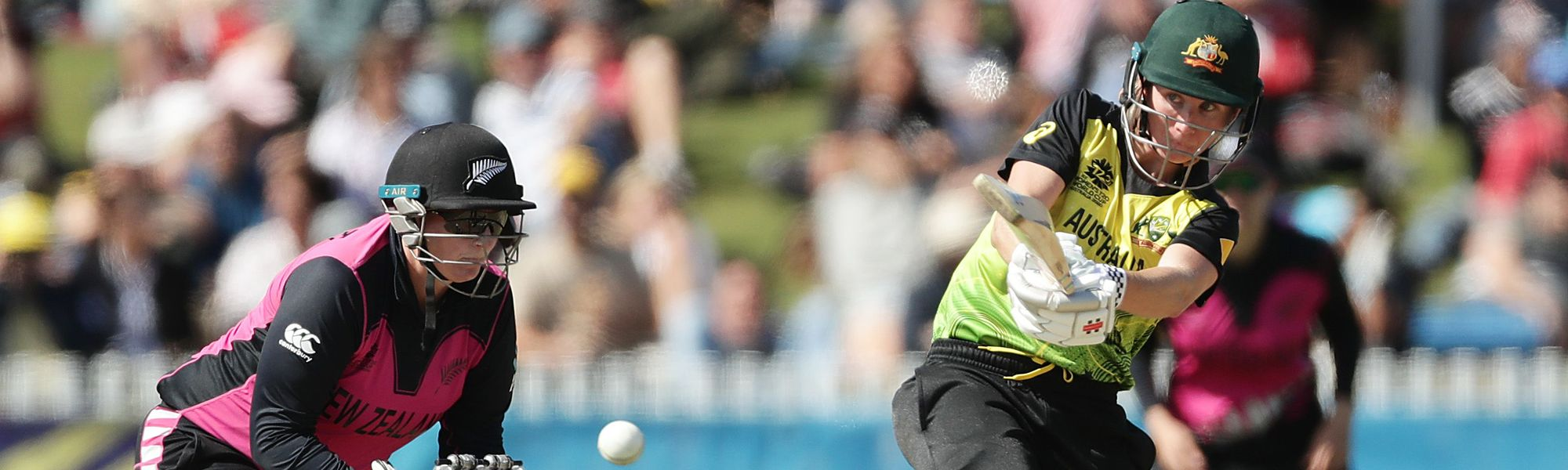 Beth Mooney of Australia bats during the ICC Women's T20 Cricket World Cup match between Australia and New Zealand at Junction Oval on March 02, 2020 in Melbourne, Australia.