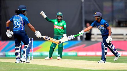 WT20WC: SL v Ban - Highlights of Sri Lanka's run chase