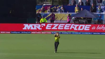 WT20WC: Aus v NZ - Schutt takes two wickets in two balls