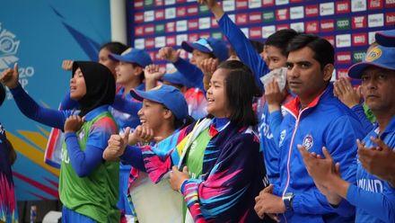 WT20WC: Pak v Tha - Thailand celebration