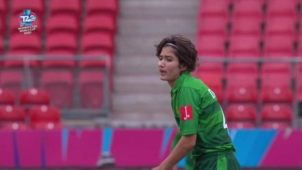 WT20WC: Nissan POTD - Diana's caught and bowled