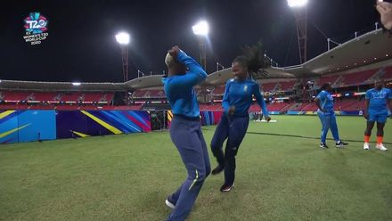 WT20WC: WI v SA - Team dance-off