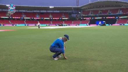 WT20WC: WI v SA - Rain delays match